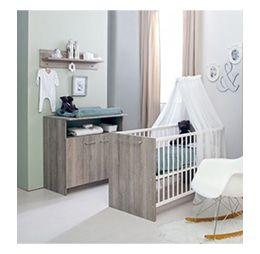 Babykamer Ledikant + Kommode Rene